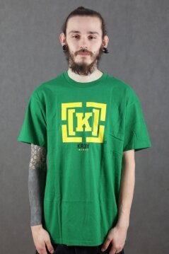 KR3W t-shirt Bracket green