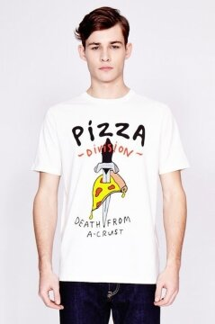 Lazy Oaf t-shirt Pizza Death