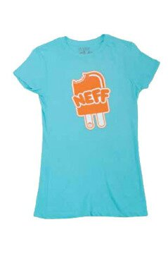 Neff t-shirt Neffsicle blue