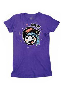 Neff t-shirt Rufia purple