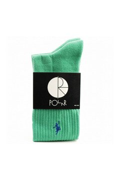 Polar Skate Co No Comply socks green